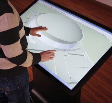 Tableros Multitouch